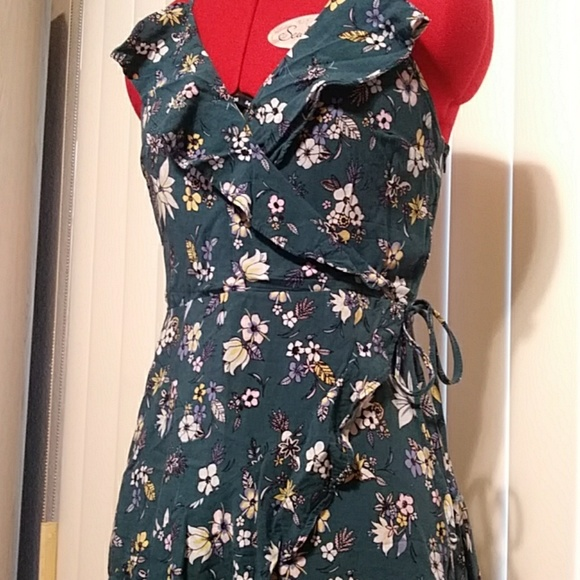 bc192e0c6b24 Mossimo Supply Co. Dresses | Mossimo Supply Co Turquoise Floral ...